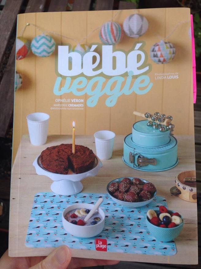 Lecture veggie #4: Bébé Veggie, Ophélie Véron et Marjorie Crémadès