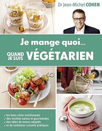 je mange quoi quand je suis végétarien, couverture